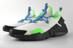 online retailer 98a3d 082ee Image is loading NEW-MENS-NIKE-AIR-HUARACHE-DRIFT-SHOES-WHITE-
