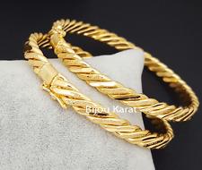 Ikili Bracelet Gold Bangles Burma Bracelet 22 Ayar kaplama Jeweler Gelin Dügün