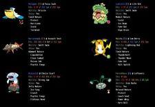 6IV Ultra Shiny Eldegoss or Gossifleur Pokemon Sword and Shield Square Shiny