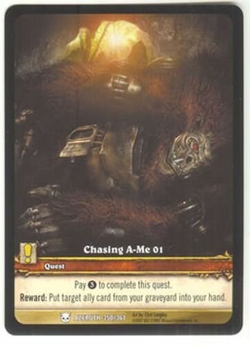 WoW EXTENDED ART PROMO Chasing A-Me 01 #350//361 NM//M
