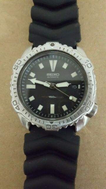 Seiko Automatic Diver Watch 7002-7020 Japan A0 Mens Scuba Dive Divers  Vintage