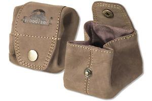 Woodland-mini-pocket-Muenzbeutel-aus-feinem-naturbelassenem-Leder-in-Braun