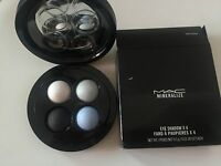 MAC Mineralize Eye Shadow X 4 Precious Dark Energy Authentic and New In Box