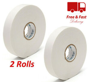 5M DOUBLE SIDED TAPE PICTURE HANGING FOAM Adhesive Photo Frame Wall Mounting
