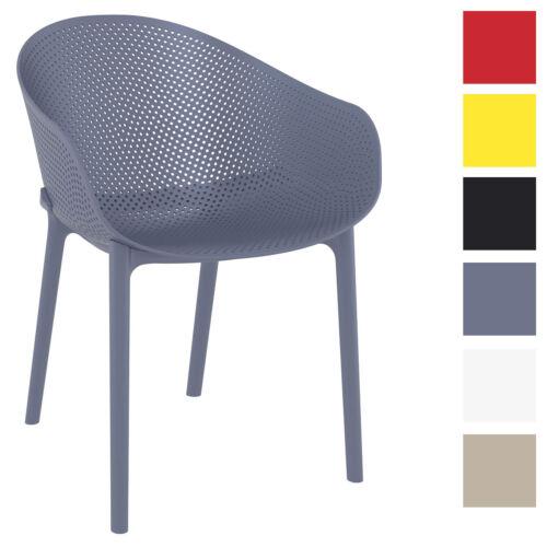 Stuhl Sky Outdoor drinnen draußen Gartenstuhl Kunststoff Küchenstuhl Lehnstuhl