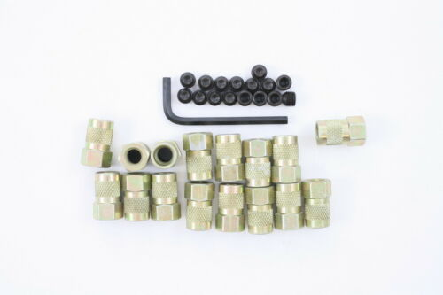 """Pioneer S1010 3//8/"""" Poly Locks Nuts Chevy Ford Dodge Set of 16"""