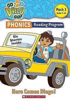 Go, Diego, Go! Phonics Reading Program: Here Comes Diego!: Books 7-12