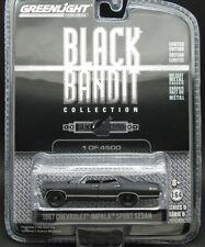 `67 Chevrolet Impala 4-Door flat-black BLACK BANIT **Greenlight 1:64 RAR+OVP