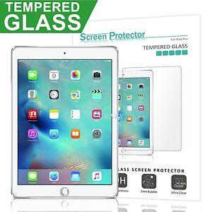 2X-Apple-iPad-2-3-4-5th-6th-Mini-Air-1-2-10-5-034-Tempered-Glass-Screen-Protector