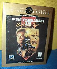 Origin's Wing Commander 3: Heart of the Tiger PC CD-ROM CIB