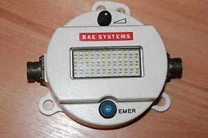 US-ARMY-Led-Dome-luz-BAE-Sistema-redonda-Forma-Luz-265-NSN-6220-01-556-3938