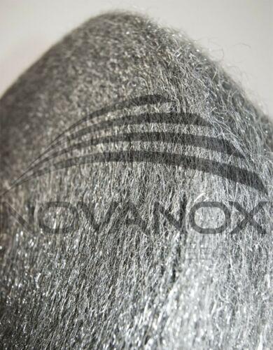 Lana de acero inoxidable 800 ° C finamente 1,5 kg schleifwolle silenciador de escape lana