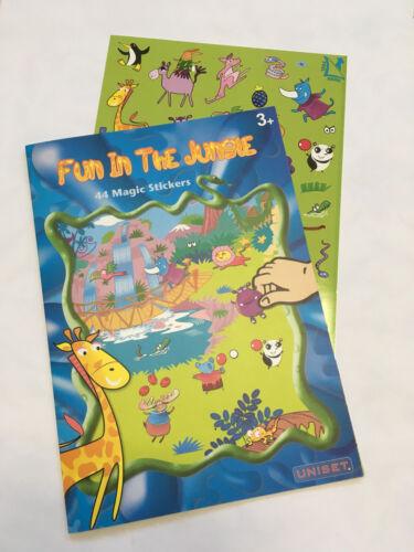 UNISET Childrens Travel employment Birthday Party Sticker Puzzle Games Set