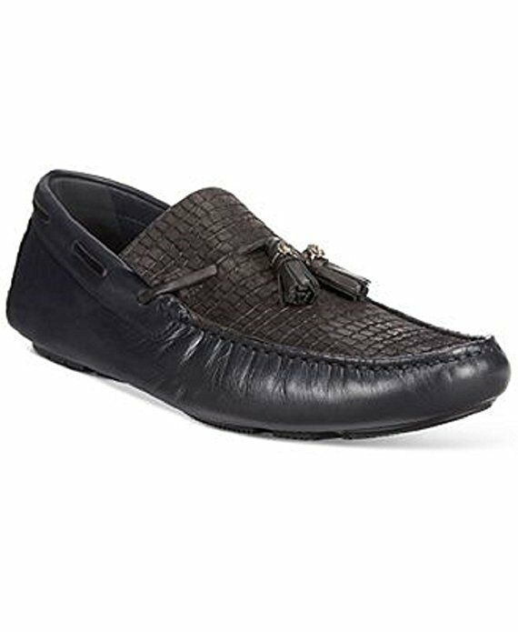 5a8fc9c55d4c26  500 Roberto Cavalli Mens Mens Mens Cannes Tassel Loafer Black US 9 MADE IN  ITALY 20c240