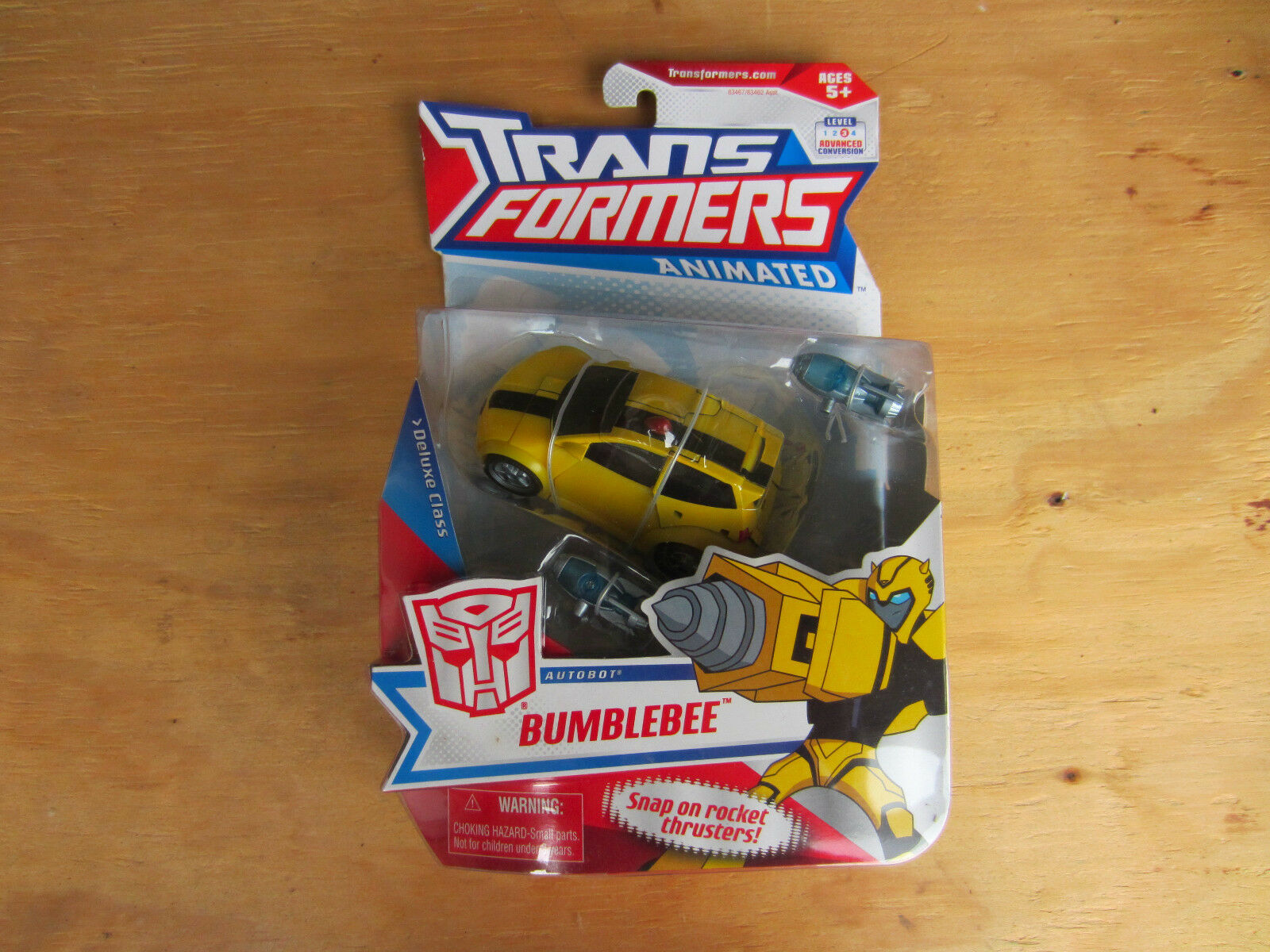 Transformers Animated Autobot Bumblebee Deluxe Class Action Figure 2008 new MISB