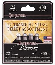 Crosman BENJAMIN DISCOVERY AIRGUN PELLETS .22 - Hunting Air Rifle Gun Sample 22