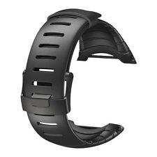 AUTHENTIC SUUNTO CORE NEW STANDARD ALL BLACK RUBBER STRAP KIT BAND SS014993000