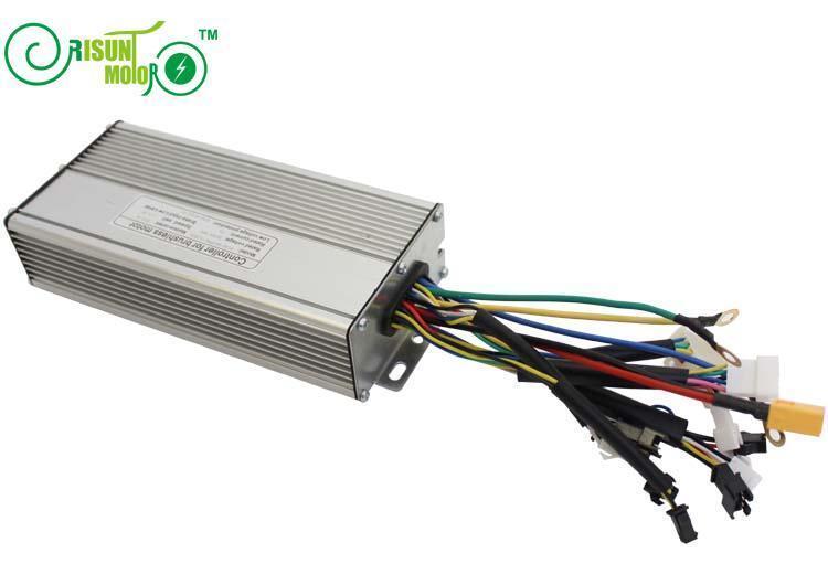 EU DUTY FREE 36 48V 1200W Brushless DC Sine Wave Ebike Controller Rege Function