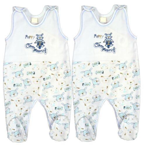 3 oder 4-tlg Größe 50 56 62 68 74 80 86 Baby Set Strampler für Junge 2