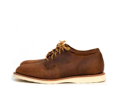 RRP £239 9 10 Brand New Red Wing Postman Oxford Copper Leather sizes UK 8