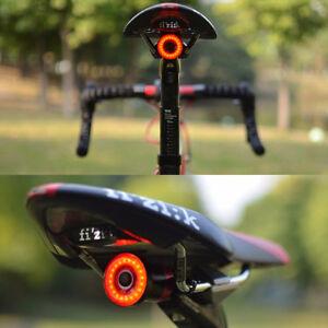 XLite 100 Waterproof USB LED Taillight for Bike Smart Brake Sense Warning Light