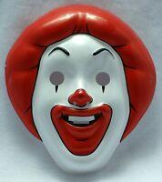 Mcdonalds Ronald Mcdonald Halloween Mask Near Vintage 1997 Pop Art Pvc Mask 30
