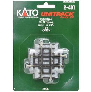 Kato-2-401-Intersection-Crossing-Track-60mm-90-HO