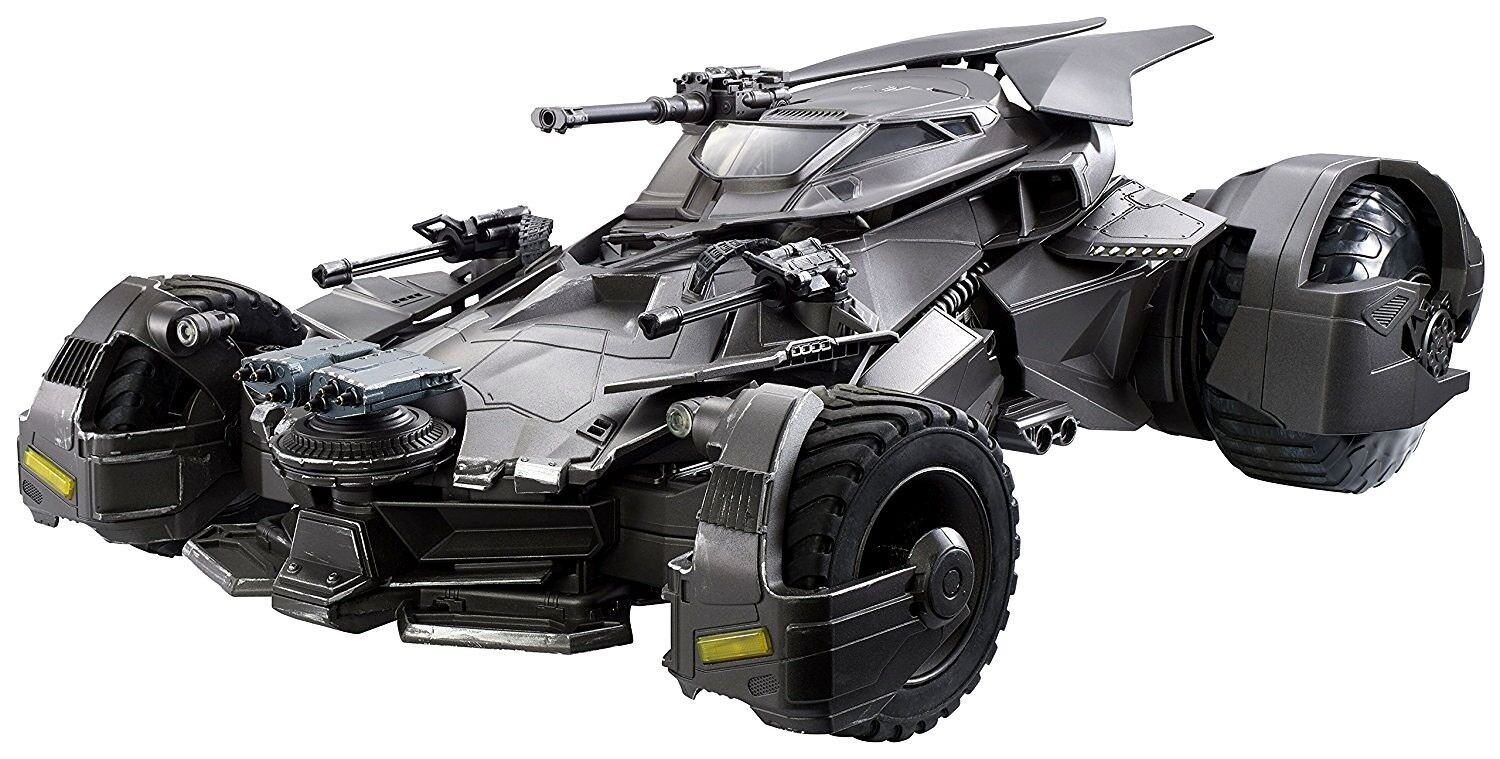DC Justice League Movie Multiverse Batmobile Action Figure Vehicle