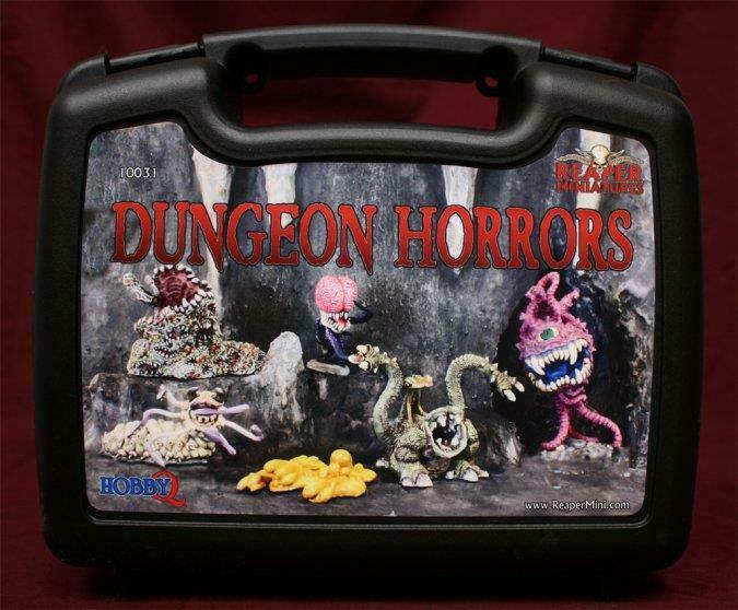 Reaper Miniatures 10031  Dungeon horrores