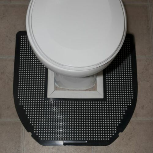 "6 Mats- 22/"" x 22/"" x 1//4/"" SANITRO Toilet Urine Absorbent /& Odor Remover Mat"