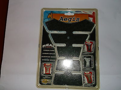 Aegis Tank Protector Motorcycle Motorbike Real Carbon Fibre Tank Spine TP08CF T