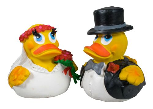Pato novia novio decorativas regalo Badeenten Lanco boda pato
