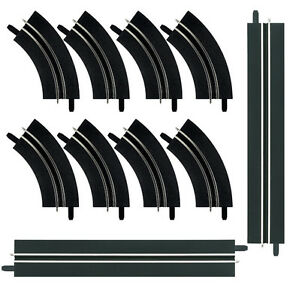 Carrera-GO-Single-Lane-Bends-Straight-Section-Extension-Set-143-Track-61657