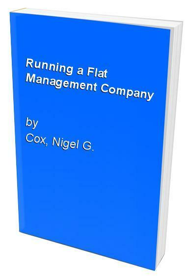 Running a Flat Management Company by Cox, Nigel G. Paperback Book The Cheap Fast