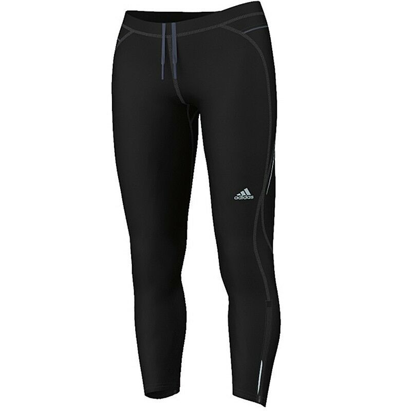 Adidas Perfomance Sequencials Lightwight Damen Laufhose Sporthose Wintertight G8