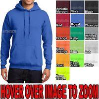 Mens Pullover Hooded Sweatshirt Cotton Blend Hoodie NEW Hoody S, M, L, XL