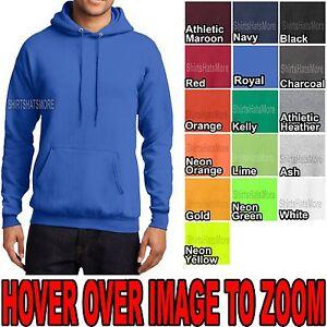 Mens-Pullover-Hooded-Sweatshirt-Cotton-Blend-Hoodie-Hoody-S-M-L-XL-NEW