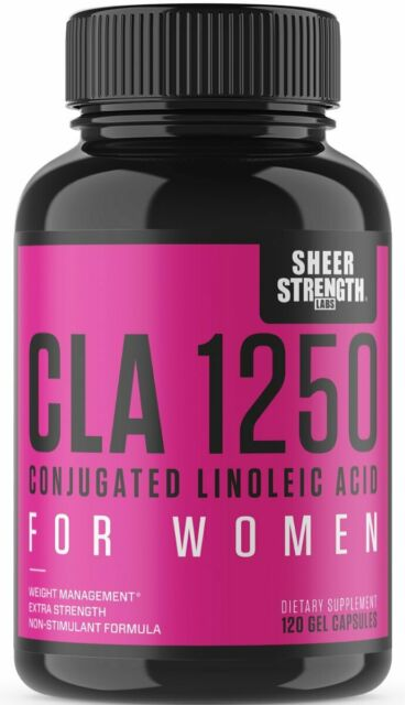 Cla For Women Weight Loss Supplement From Safflower Oil Non Gmo 120 Units