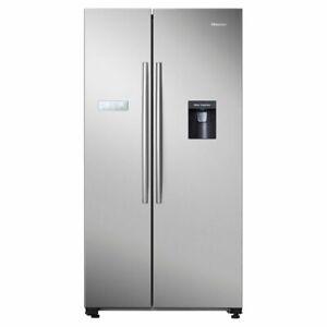 NEW-Hisense-624L-Side-by-Side-Fridge-Freezer-HR6SBSFF624SW