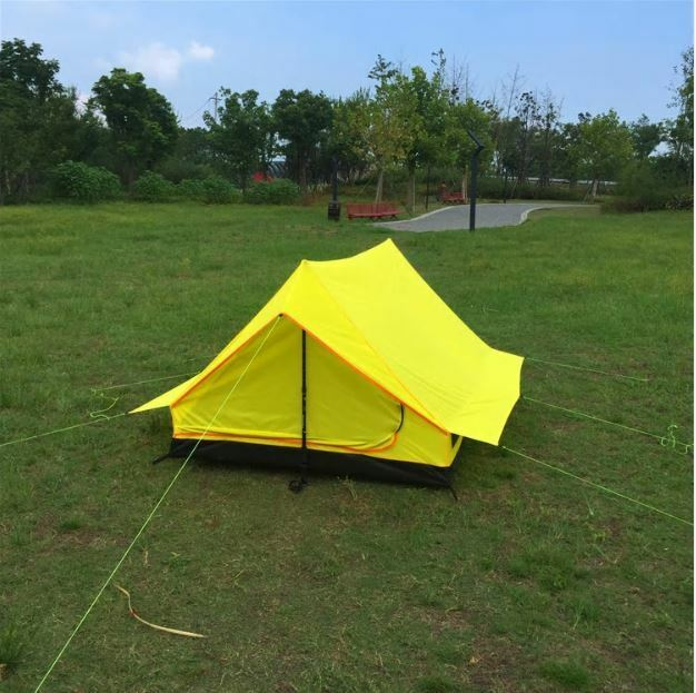 Super Light 2-3 Person Waterproof Outdoor Camping Hiking RipStop Triangle Tent