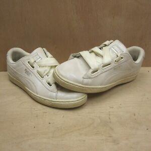 Puma Basket White 'Snakeskin' Trainers