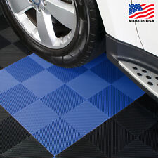 Garage Tiles   Drain Tiles Blue - Made In the USA