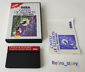 SEGA Master System - Castle Of Illusion Starring Mickey Mouse - PAL