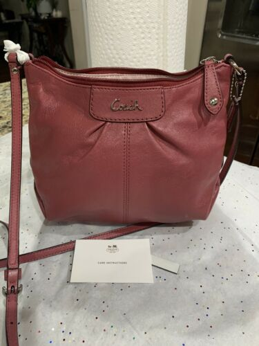 Details about  /Coah Small Leather crossbody Handbag new Without Tag