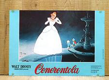 CENERENTOLA fotobusta poster affiche Walt Disney Cinderella Ballo 1950 BI25