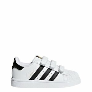 los angeles a0cf6 267e5 Image is loading adidas-Superstar-Cf-I-Shoes-White-Kids