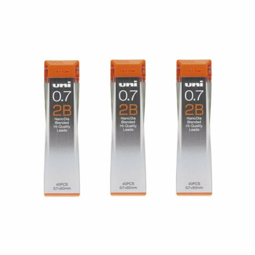 Prime Day NEW Uni Nano Dia UNI0.7-202ND 0.7mm 2B Refill Leads Pack of 3