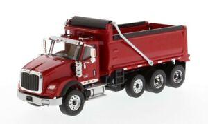 Diecast-Masters-71018-International-HX620-Tridem-Dump-Red-1-50-MIB