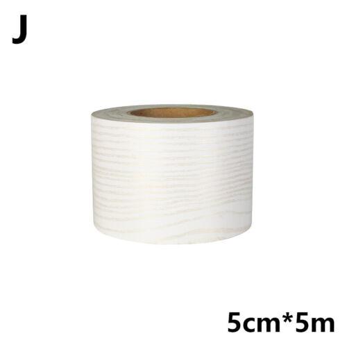 5cm Marble Self-Adhesive PVC Waistline Wall Sticker Wallpaper Border Skirting