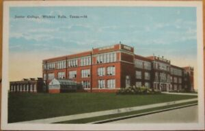 Wichita Falls Tx 1920 Postcard Junior College Texas Tex Ebay